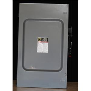 Safety Switch, 1 NEMA Enclosure Type, 200 Amps AC, 125 HP @ 600VAC HP