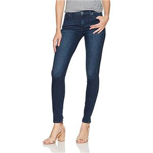 Sz 25 NWT 7 For All Mankind Gwenevere Squiggle in Twinkling Nightfall