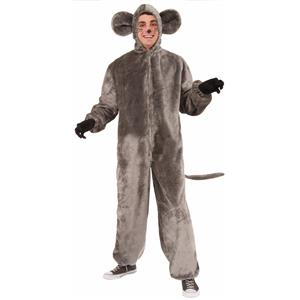 Forum Plush Gray Mouse Rat Adult Costume