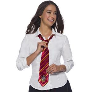 Harry Potter Tie Gryffindor Logo Maroon Costume Accessory