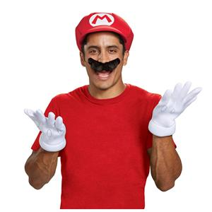 Super Mario Brothers: Mario Adult Costume Accessory Kit