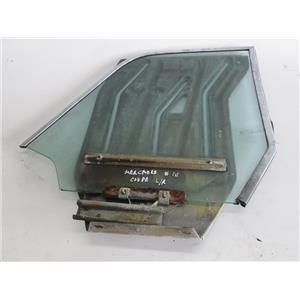 Mercedes W111 Coupe left rear window regulator door glass