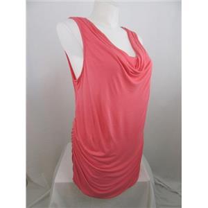 INC International Concepts Woman 3X Polished Coral Radiance Sleeveless Tunic
