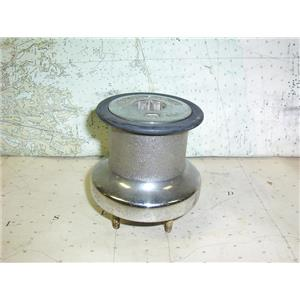 Boaters Resale Shop of TX 1807 2154.11 BARLOW 15 CHROME SINGLE SPEED WINCH