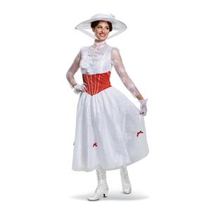 Mary Poppins Disney Dress Deluxe Costume Small 4-6