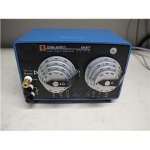 ESI Electro Scientific Industries DB 877 Decade Resistor, Ohm Supply