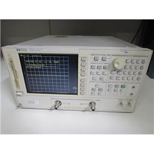 Agilent HP 8753E Network Analyzer, 30 kHz to 3 GHz w/ Opt 075