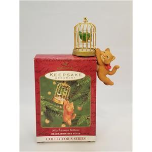 Hallmark Keepsake Series Ornament 2000 Mischievous Kittens #2 - #QX6641-SDB
