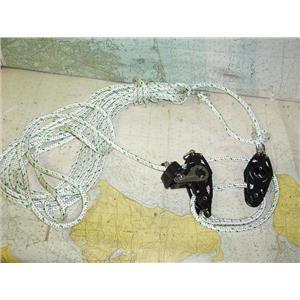 "Boaters Resale Shop of TX  20088.02 VIADANA 4:1 MAINSHEET VANG WITH 3/8"" LINE"