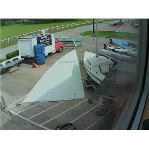 Mainsail w 41-0 Luff from Boaters' Resale Shop of TX 1806 0275.91