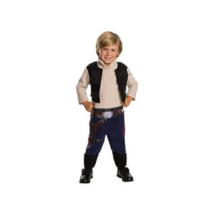 Star Wars Han Solo Toddler Costume Size 3T-4T