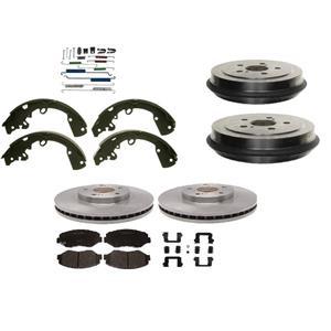 Toyota Matrix Pont Vibe Brake Pad Rotor Drum Shoe & hardware 2003-2008 ONLY FWD
