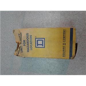 Square D 9007BR53B2 Heavy Duty Limit Switch for Hazardous Location