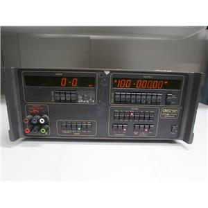 Datron 4000A DC Calibrator w/ Opt 20 (Ohms & DCI), 90 (Rack Mount), #1