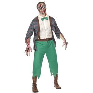 High School Horror: Zombie Geek Adult Costume Medium 38-40 Chest