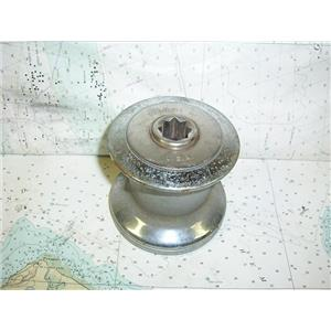 Boaters' Resale Shop of TX 1808 2021.01 BARIENT 10 CHROME PLATED 1 SPEED WINCH