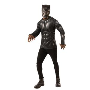 Black Panther Movie Costume Top Adult Costume X-large