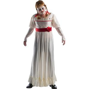 Annabelle Creation Scary Doll Deluxe Costume Standard Size