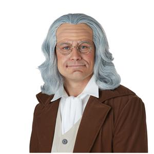 Benjamin Franklin Wig and Bald Cap