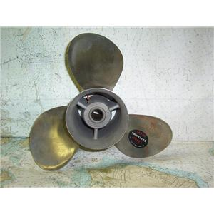 Boaters Resale Shop of TX 1804 2755.05 THREE BLADE 48-73980-19 SS 14.5RH19 PROP