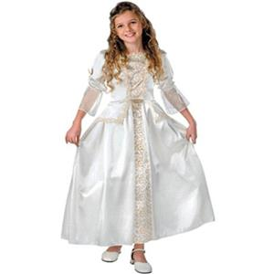Pirates of the Caribbean Elizabeth Swan Deluxe Child White Dress XL 14-16