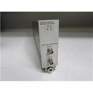 Agilent HP 70902A IF Section RES BW 10Hz – 300kHz