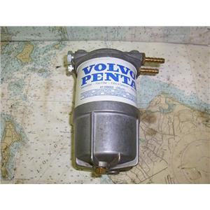 Boaters Resale Shop of TX 1707 0457.04 VOLVO PENTA 41109003 FUEL FILTER/HOLDER