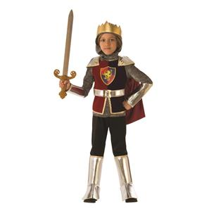 Child Roman Medieval Knight King Costume Size Small