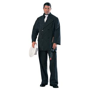 Deluxe Gangster Man Plus Size Costume Size Small