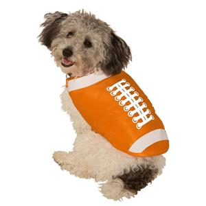 Football Sports Cheerleader Dog Costume Size Small
