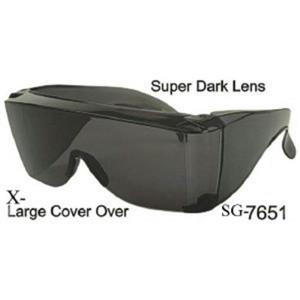Old Man Safety Super Dark Lens Seeing Eye Blind Man Sunglasses