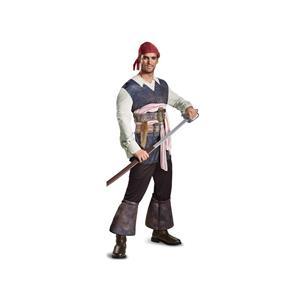 Disney Men's POTC5 Captain Jack Sparrow Classic Adult Costume Medium 38-40