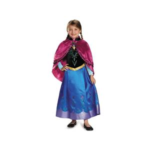 Anna Traveling Prestige Frozen Toddler Princess Costume Size 3-4T