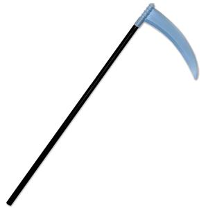 Plastic Scythe Costume Accessory Prop 40""