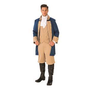 Rubies Patriotic Man President Colonial Costume Standard Size