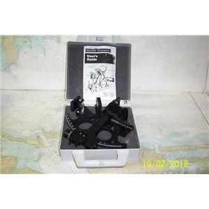Boaters' Resale Shop of TX 1809 2422.02 DAVIS MARK 15 SEXTANT WITH USER'S GUIDE