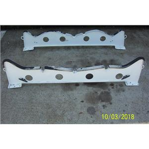"Boaters' Resale Shop of TX 1709 1474.02 PAIR OF 62"" DINGHY CHOCKS WITH 4 CLEATS"