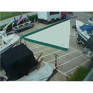 North Sails Jib w Luff 43-7 from Boaters' Resale Shop of TX 1709 0124.91