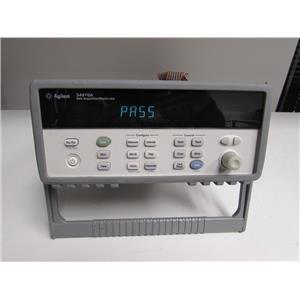 Agilent 34970A Data Acquisition Switch Unit w/ DMM w/ 34901A Module