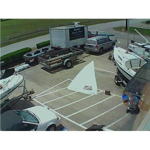 Star Boat Jib with Zippered Luff 19-5 Boaters' Resale Shop of TX 1805 0755.94