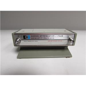 HP 8495G Programmable Attenuator Opt 00002 (SMA)