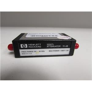 Agilent 33327L Programmable Step Attenuator, 40GHz, 70dB,10dB step