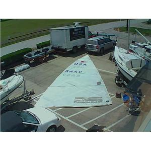 Star Boat Mainsail w 30-0 Luff from Boaters' Resale Shop of TX 1805 0755.92
