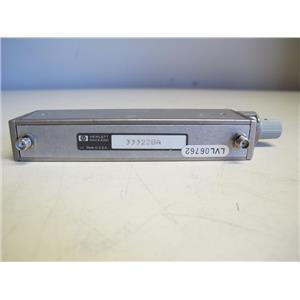 Agilent HP 33322BA RF Step Attenuator , 0 - 110 dB, DC - 18 Ghz , SMA