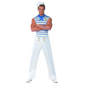 Smiffy's French Sailor Adult Costume Size Large
