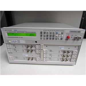 Agilent E5260A w/ six SMU Modules (4 E5291A & 2 E5290A)