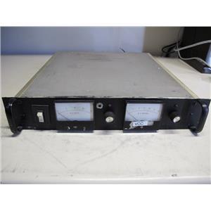 Electronic Measurement EMI SCR 20-25-0196-OV Variable/Adjustable DC Power Supply