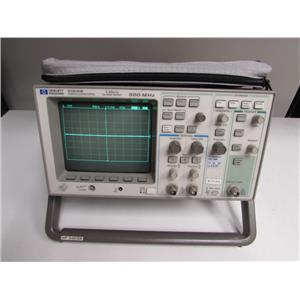 HP 54616B 2-Channel 500MHz Oscilloscope w/ 54657A Storage Module
