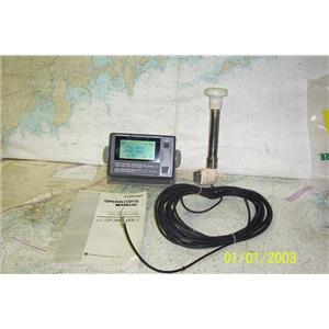 Boaters' Resale Shop of TX 1810 1445.01 FURUNO GP-50 GPS DISPLAY AND ANTENNA