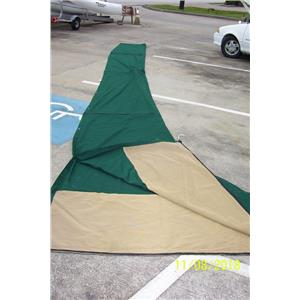 Boaters' Resale Shop of TX 1810 1077.04 MAIN SAIL 25 FT. COVER- 5.6 FT. FRONT